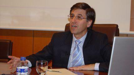 """José Emeterio Gutiérrez: """"La industria nuclear se distingue por su rigor, calidad y profesionalidad"""""""