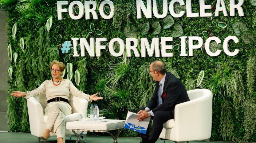 IPCC acknowledges the important role of nuclear energy in the fight against climate change