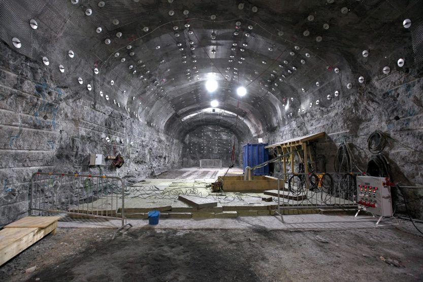 Construcción Almacén Geológico Profundo en Finlandia (Imagen: Posiva)