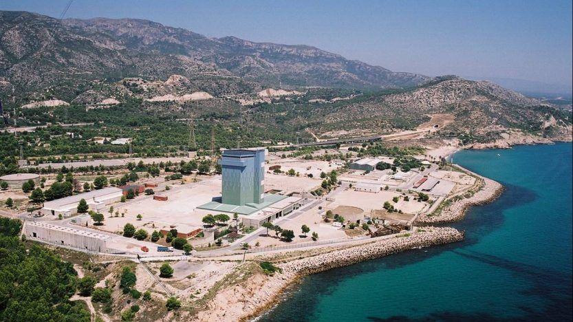 Central nuclear de Vandellós I, en estado de latencia