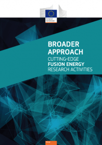 Broader approach: Cutting-edge fusion energy research activities
