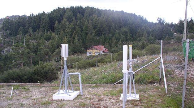 Estación automática de vigilancia radiológica (Imagen: CSN)