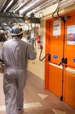 Trabajadores del sector nuclear