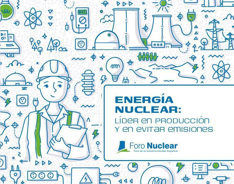 Nuclear power: leader in production and avoiding emissions