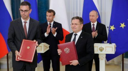 France and Russia extend their nuclear power cooperation