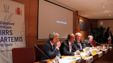 An IAEA assessment mission shows Spain's strong commitment to nuclear and radiation safety