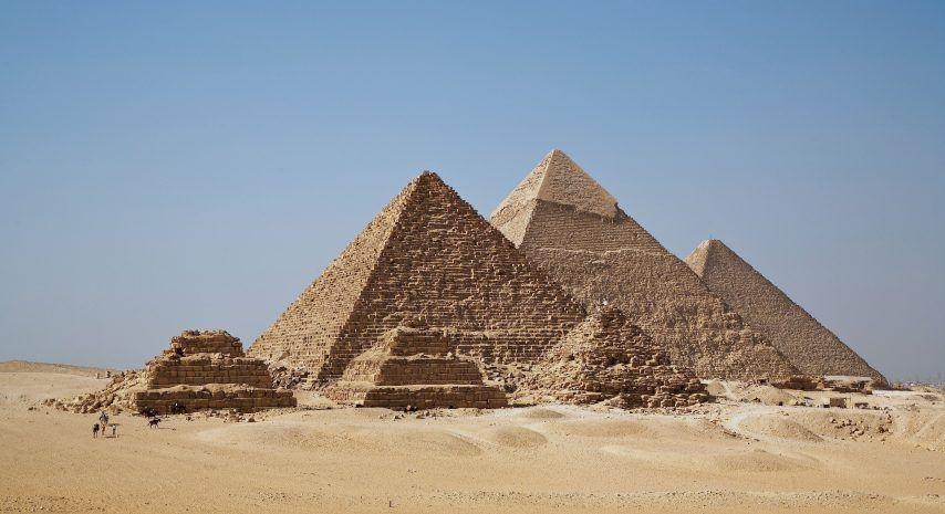 La tomografía de muones permite descubrir dos cavidades secretas en la Pirámide de Keops
