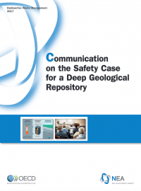 Communication on the Safety Case for a Deep Geological Repository