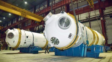 ENSA ships steam generators to France