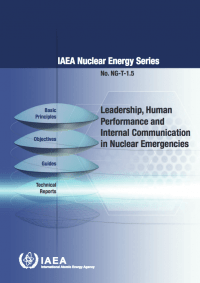Leadership, Human Performance and Internal Communication in Nuclear Emergencies