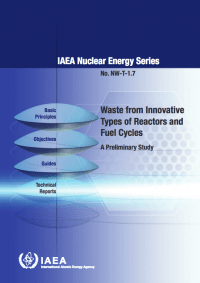 Waste from Innovative Types of Reactors and Fuel Cycles