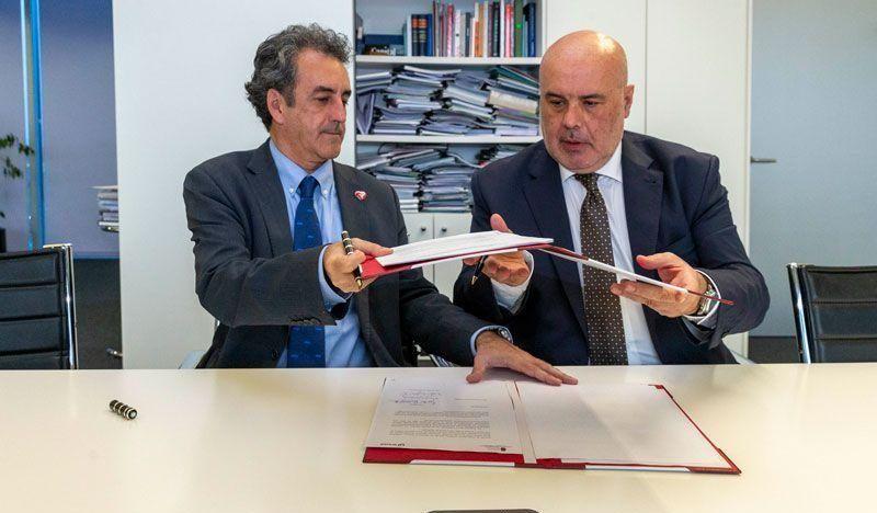 ENUSA convenio con Gobierno de Cantabria