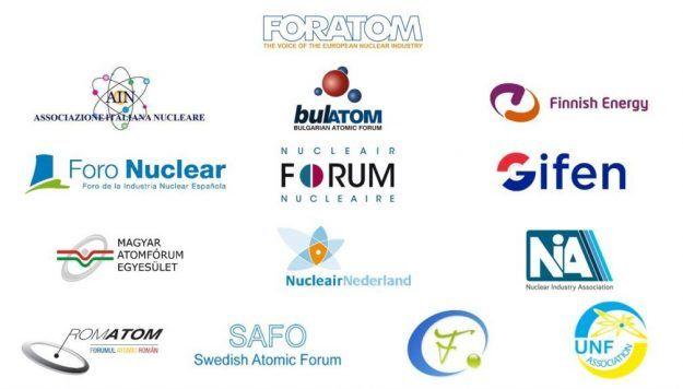 Empresas firmantes carta apoyo industria nuclear europea