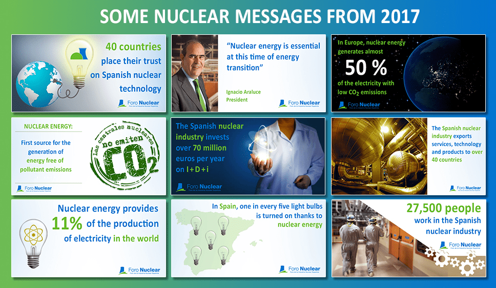 Some nuclear messages from 2017