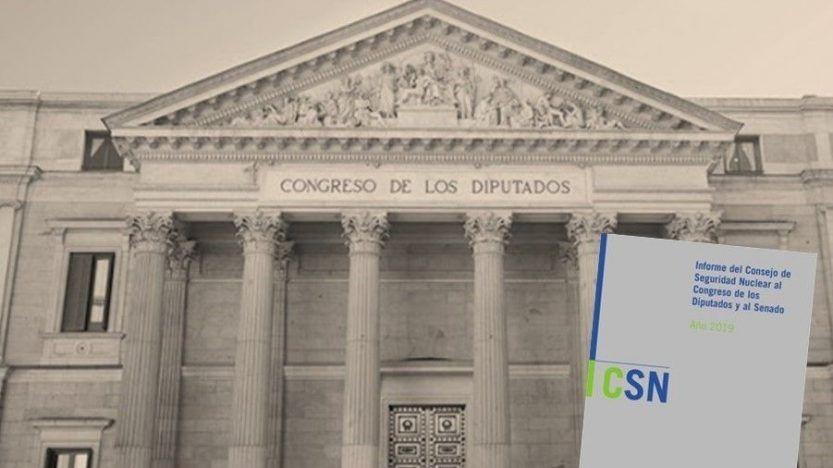 El CSN presenta al Congreso y Senado su informe anual