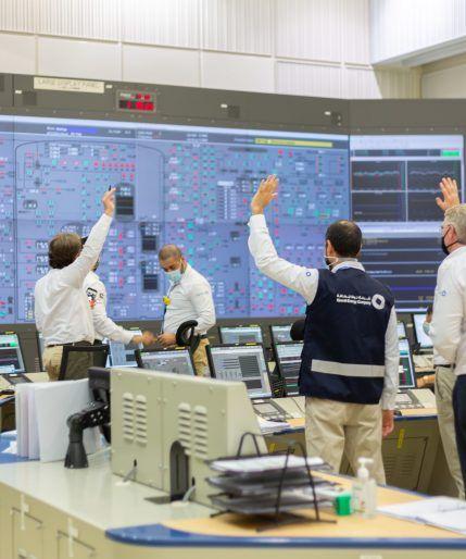 Puesta en marcha de la unidad 1 en la Central Nuclear de Barakah