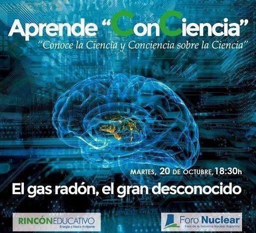 Aprende ConCiencia gas radón