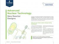 Advanced Nuclear Technology – New Reactor Design