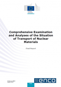 Comprehensive examination and analyses of the situation of transporrt of nuclear materials