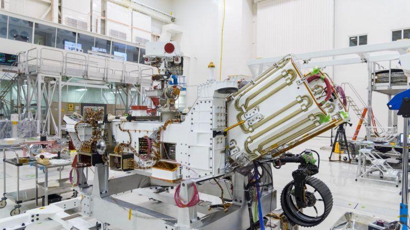 The Perseverance Rover under construction (Photo: NASA)