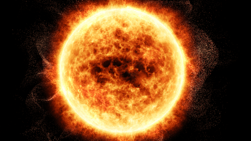 The Sun generates energy via nuclear fusion