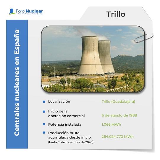 Central nuclear Trillo ficha