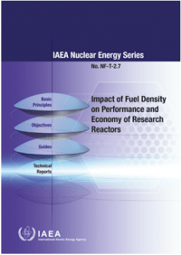 Impact of Fuel Density on Performance and Economy of Research Reactors. IAEA Nuclear Energy Series No. NF-T-2.7