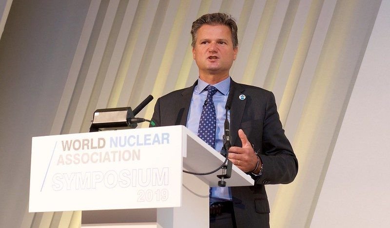 Yves Desbazeille, FORATOM Director General. Photo: World Nuclear Association