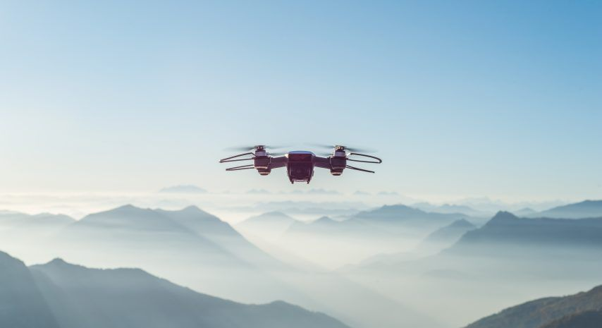 Drones for radiation monitoring