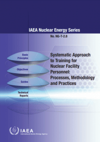 Systematic Approach to Training for Nuclear Facility Personnel: Processes, Methodology and Practices. IAEA Nuclear Energy Series No. NG-T-2.8